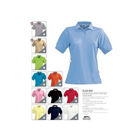 Slazenger Cotton Ladies Golf Shirt
