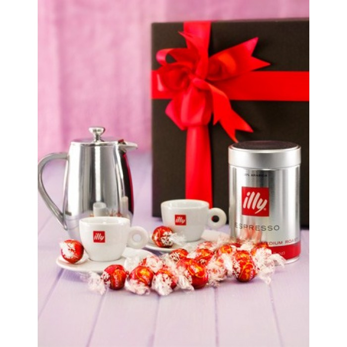 Baby Gift Basket South Africa : Illy coffee and lindt chocolate corporate hamper south