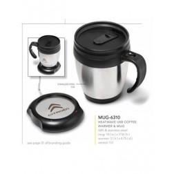 Heatwave USB Coffee Warmer & Mug