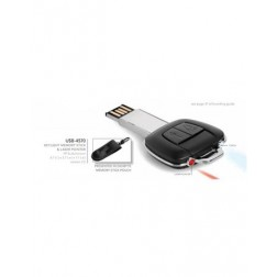 Keylight Memory Stick, Torch & Laser Pointer