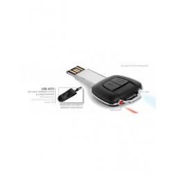 Keylight Memory Stick, Torch & Laser Pointer